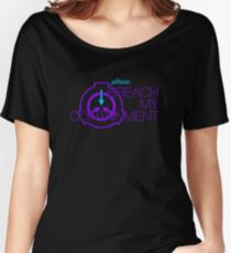 Breach my containment Women's Relaxed Fit T-Shirt