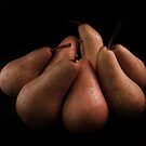 Bosc Pears by Barbara Morrison