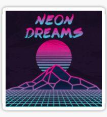 Neon Dreams  Sticker