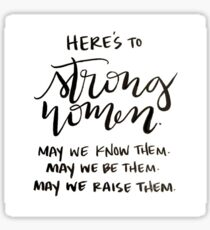 Strong Women Sticker