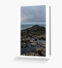 The Giant's Causeway Greeting Card