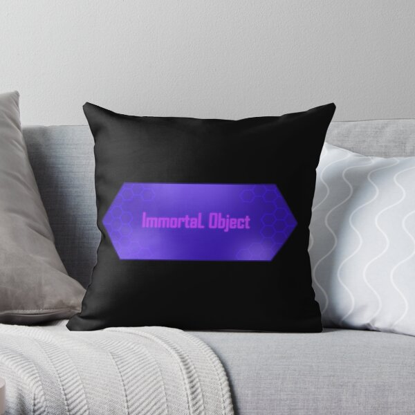 Immortal Object Throw Pillow