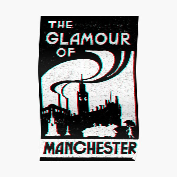 GLAMOUR Of Manchester Poster