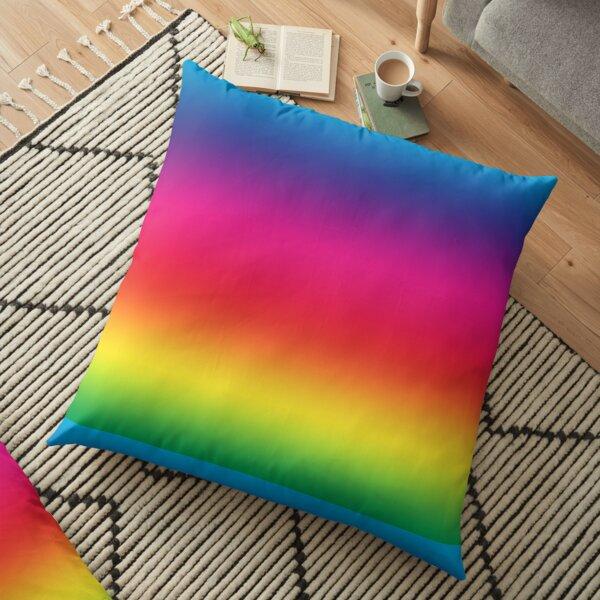 Rainbow Spectrum Floor Pillow