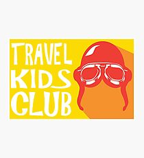 Travel Kids Club Merch Photographic Print