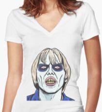 Laserblast Women's Fitted V-Neck T-Shirt