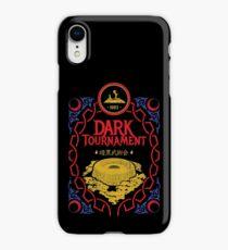 #DarkTournament1993 Where were you? iPhone XR Case