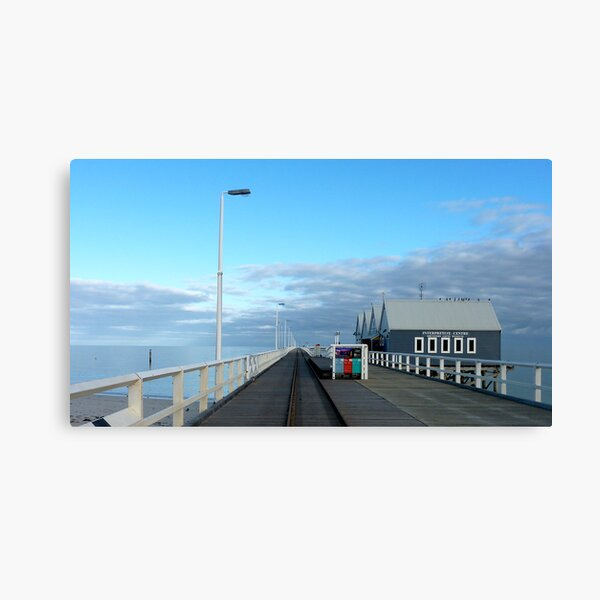 Busso jetty Canvas Print