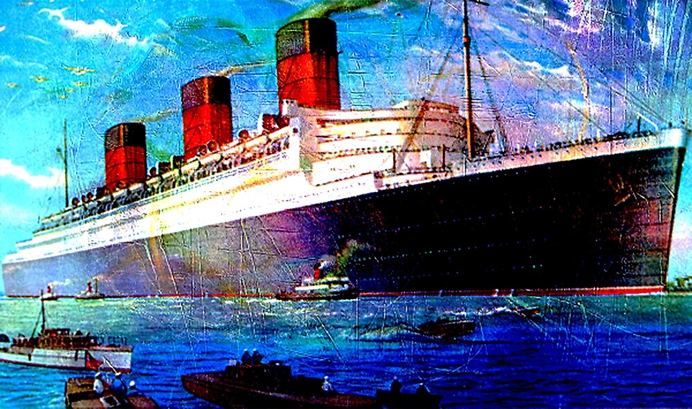 QUEEN MARY 2 by Tammera