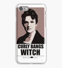 Curly bangs witch iPhone Case/Skin