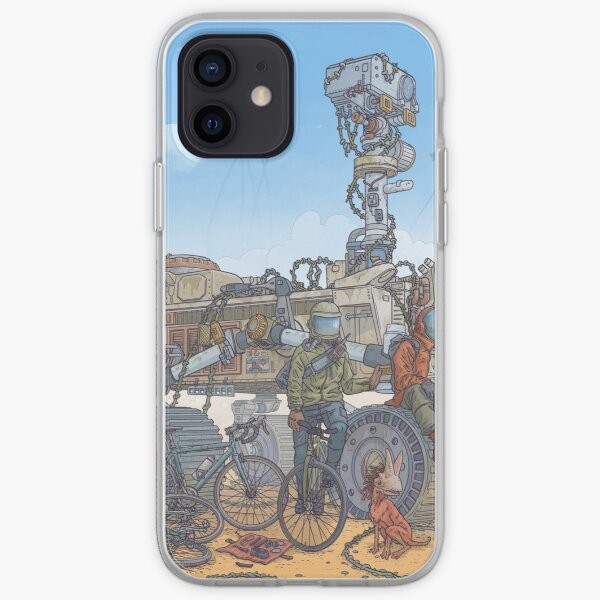 Rover Ruins Ride - w/ Helmets iPhone Soft Case