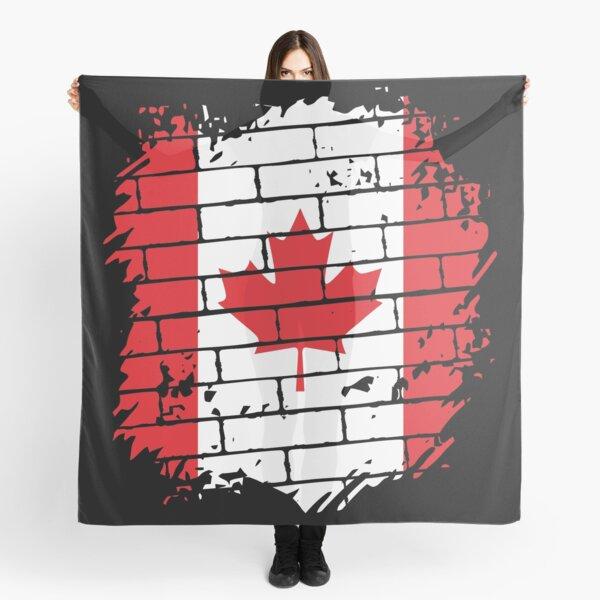 Canada Flag Scarf