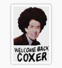 Welcome Back Cox Sticker