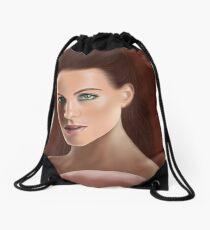 Bengslicaake - Kate Beckinsale Drawstring Bag