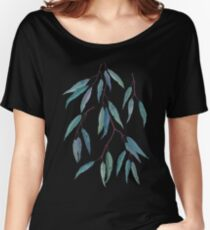 Feuilles d'eucalyptus T-shirts coupe relax