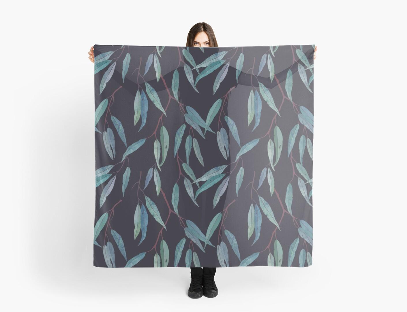 Eukalyptusblatter Tuch By LavishSeason