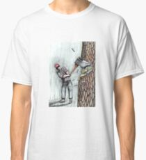 Arborist Tree Surgeon Lumberjack Logger Stihl chainsaw Classic T-Shirt