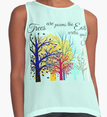Poetry of Trees. Contrast Tank