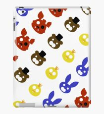 FNAF Animatronics Pattern iPad Case/Skin
