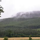 Misty Benevenagh Mountain Magilligan by mikequigley