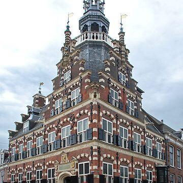 Townhall Franeker - Fryslan - Netherlands by akoene232