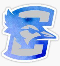 Creighton University Jays Watercolor Logo Sticker