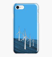 Wind Farm Ocean iPhone Case/Skin
