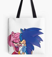 Sonamy - Sonic The Hedgehog Tote Bag
