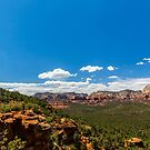 Devil's Bridge - Westward View Panorama by eegibson