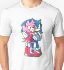 Sonic and Amy Rose (Sonamy) T-Shirt