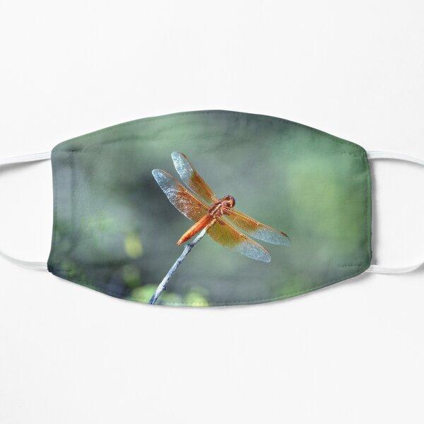 Flame Skimmer Dragonfly Flat Mask