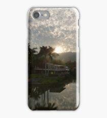 morning at the river cuale - mañana en el rio cuale iPhone Case/Skin