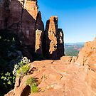 Cathedral Rock - Flat Overlook. by eegibson