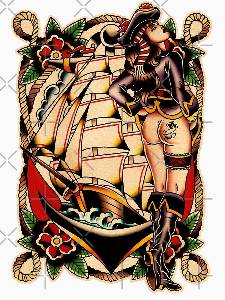 Sexy Pirate Girl von chuckcarvalho