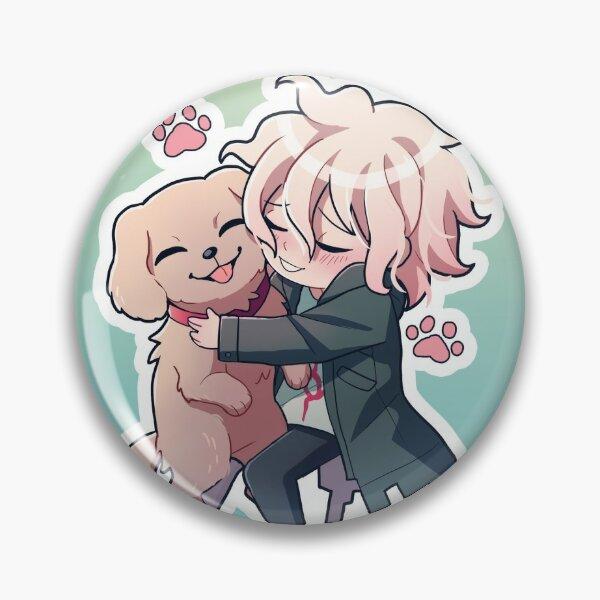 Komaeda with his dog Pin