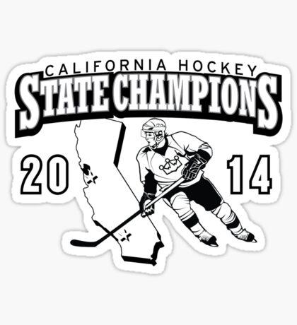 State Champs - Version 1 Sticker