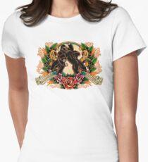 Gorilla Mayhem Women's Fitted T-Shirt