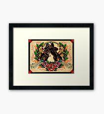 Gorilla Mayhem Framed Print
