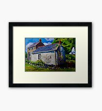 Forget-me-not, Aunt Ritas Old Cottage, Ballylumford, Islandmagee. Framed Print