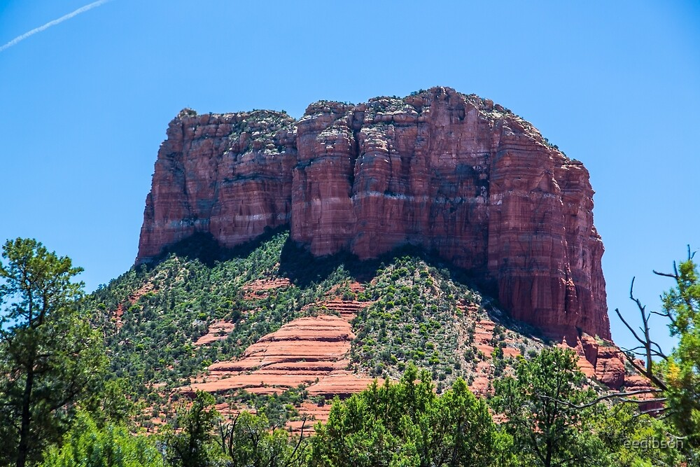 Sedona - Courthouse Butte by eegibson