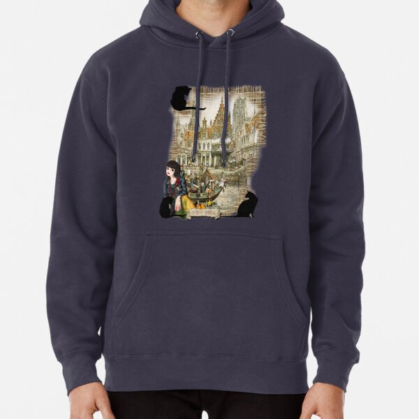 November - Canals in old Amsterdam Pullover Hoodie