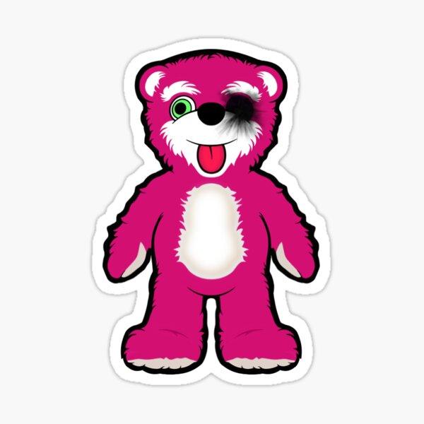 Breaking Bad Pink Teddy Bear Sticker