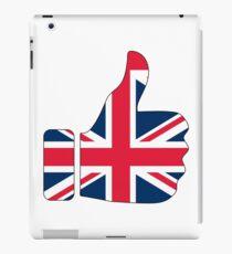 Thumbs Up United Kingdom Britain iPad Case/Skin