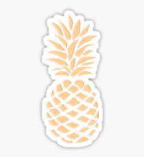 Pineapple texture 1 Sticker