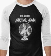 I'm a Huge Metal Fan Men's Baseball ¾ T-Shirt