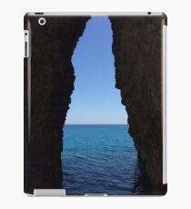 sea cave iPad Case/Skin