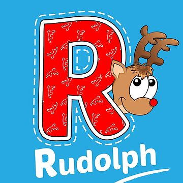 'R' is for Rudolph! by Apptronics