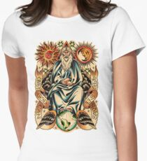 GOD I Women's Fitted T-Shirt