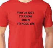 The Gambler T-Shirt - Texas Holdem Tee Unisex T-Shirt