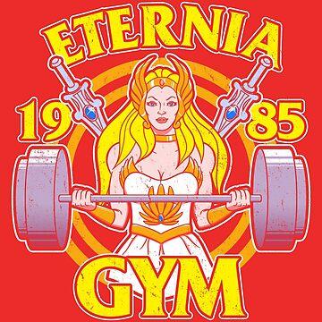 She-Ra Gym by jozvozdesign